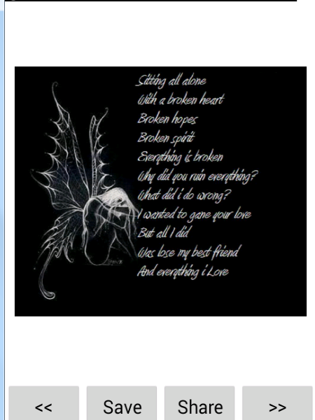Emo clipart poem (with Android screenshot Play pictures)