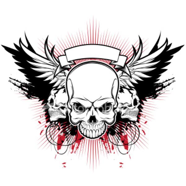 Punk clipart tengkorak #14