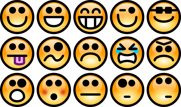 Smileys clipart happy emotion Clip Free Smiley Art Panda