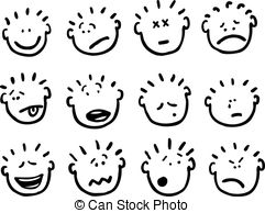 Emotions clipart 145 art 109 Stock clip