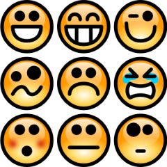 Feelings clipart More tagbook Feelings Clip Faces