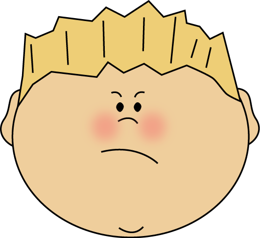 Emotions clipart anger Art Boy Clip Emotions Images