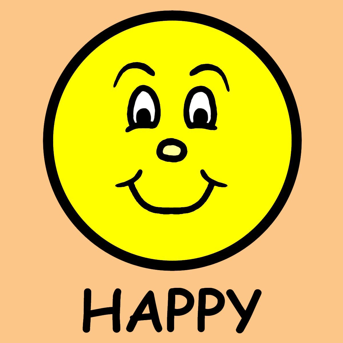 Feelings clipart happy person Face Girl Clipart Clipart Free