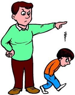 Anger clipart angry dad Controlling Authoritarian Profile: Parents The