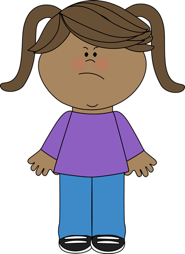 Emotional clipart angry patient Images Girl Clip Little Emotions
