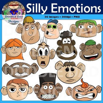 Emotional clipart angry patient Emotions Faces Angry Dad Silly