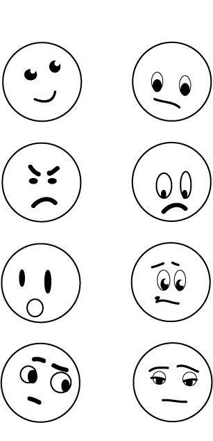 Emotions clipart simple Download Pictures Faces Clip Clip