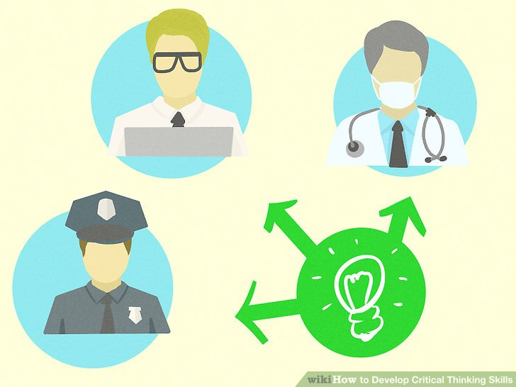 Mind clipart thinking skill WikiHow Step Skills Pictures) Critical