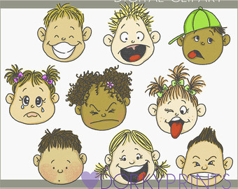 Feelings clipart emotional health Etsy Emotions happy Clipart Use