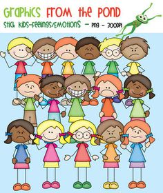 Emotions clipart child emotion Clip Out Kids Cut For