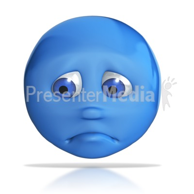 Emotional clipart doubt Frown PowerPoint 3D Great Frown