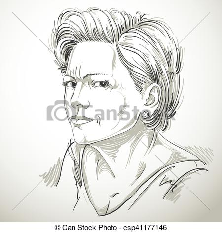 Emotional clipart doubt Attractive expression of of Vector