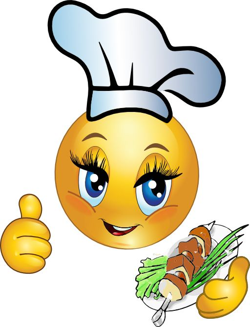 Smiley clipart chef Emotions Chef on Adorable about