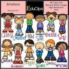 Emotional clipart emotional development Art Emotions Clip Clip /