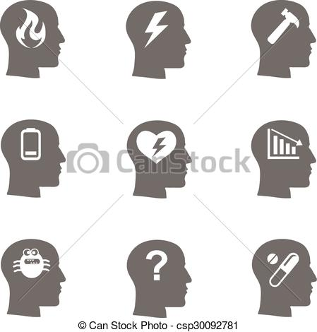 Depression clipart depressed boy Concept Stress health health emotional