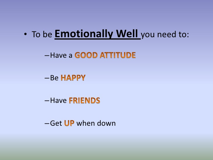 Emotions clipart emotional wellness Emotional  To Emotionally 3