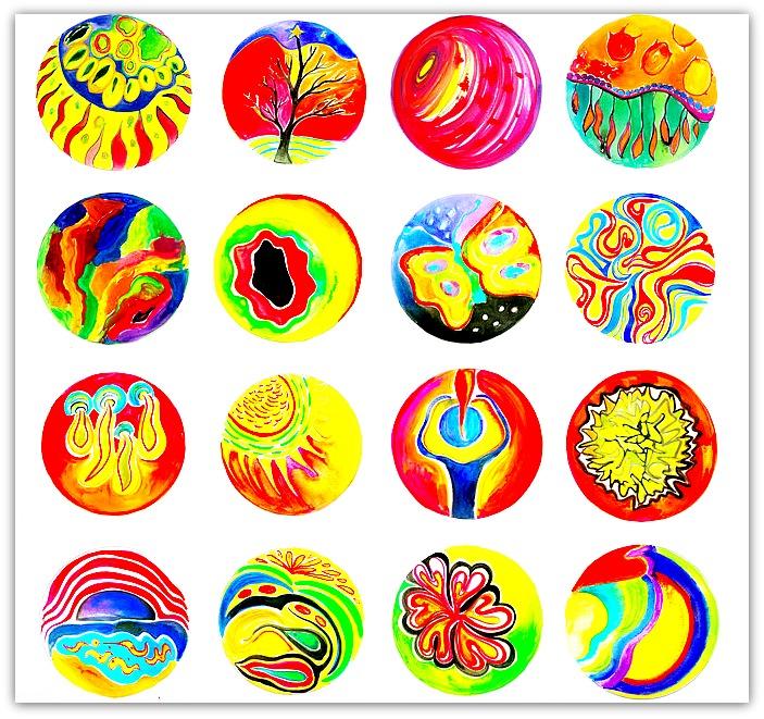 Emotional clipart focused Mandalas Intuitive Inspirations Mandalas Art