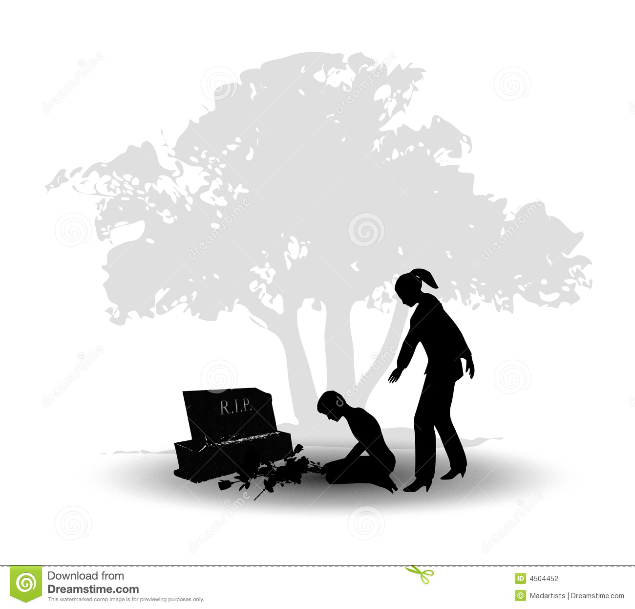 Emotional clipart grief Cliparts Loss Clipart Grieving