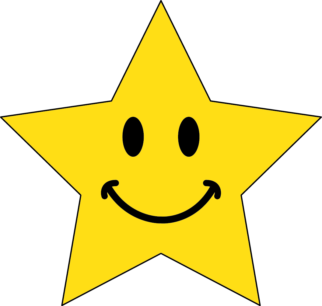 Emotional clipart happy star #2