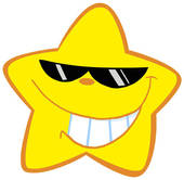 Emotional clipart happy star #3