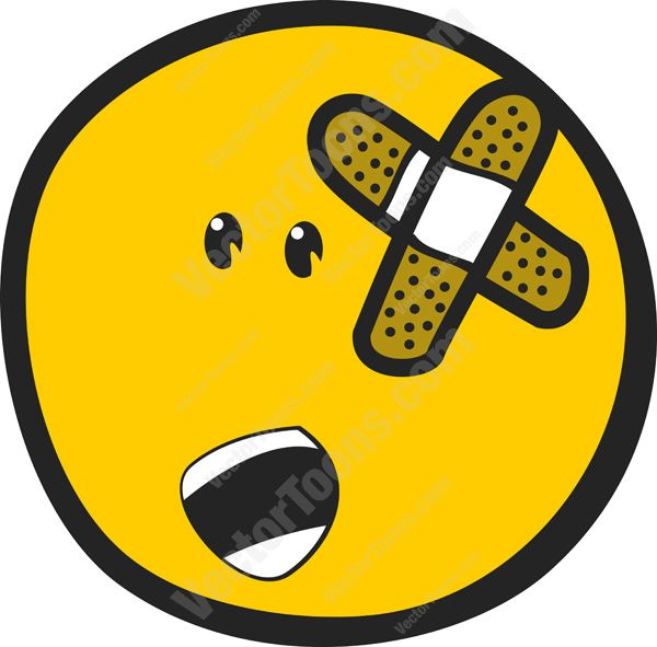 Emotional clipart hurt feeling Clipart Wounded Shape On In