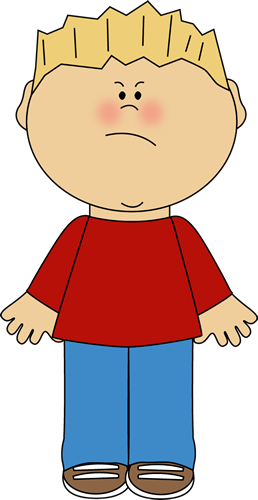 Emotions clipart grumpy face With an Face Clip Emotions