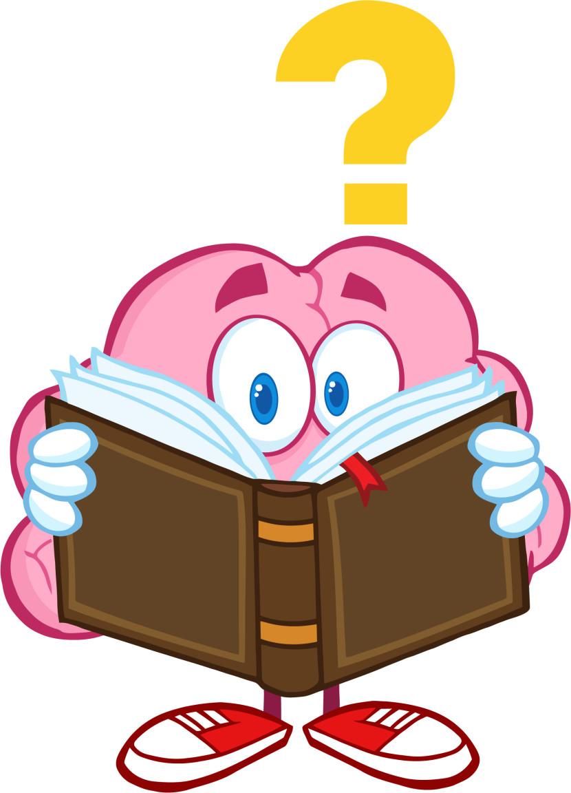 Brains clipart cute cartoon #6