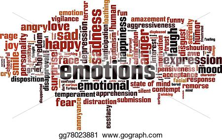 Emotions clipart remorse Cloud  Art Clip vector