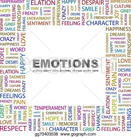 Emotions clipart remorse Emotions GoGraph Stock Clipart tag