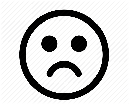 Shocking clipart bill payment Sad Symbol Face face And
