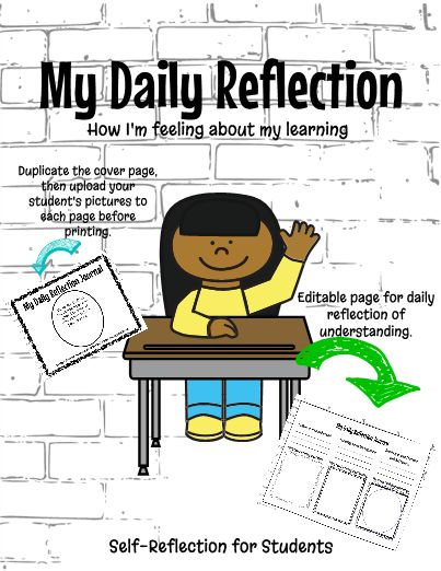 Emotional clipart self reflection One's student not about one's