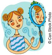 Emotional clipart self reflection 328 Empathy Self Illustrations Stock