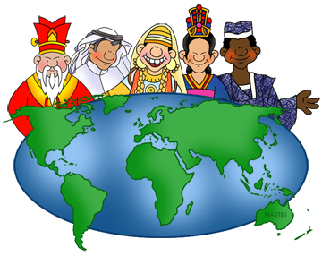 Geography clipart cute Free Social Art by Phillip