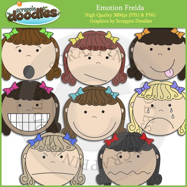 Emotional clipart teacher Art Emotion Freida Clip Pinterest