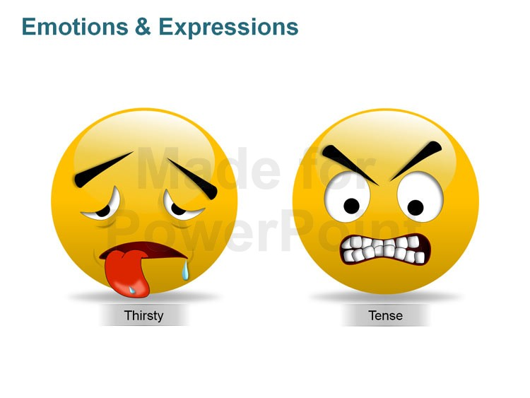 Smileys clipart thirsty Views Illustrations: More Expressions PPT