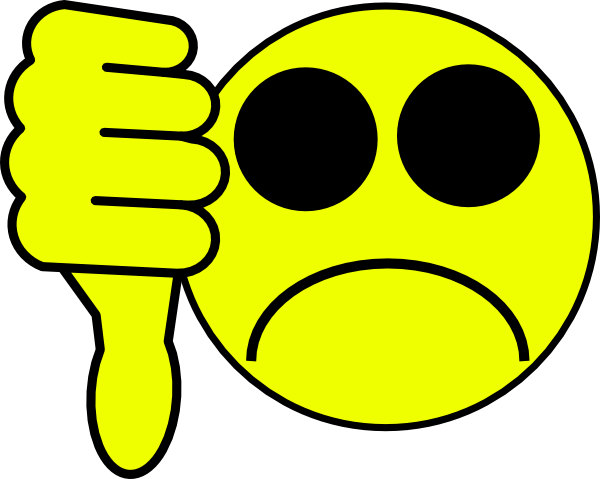 Smileys clipart dislike  Clip as: at Download