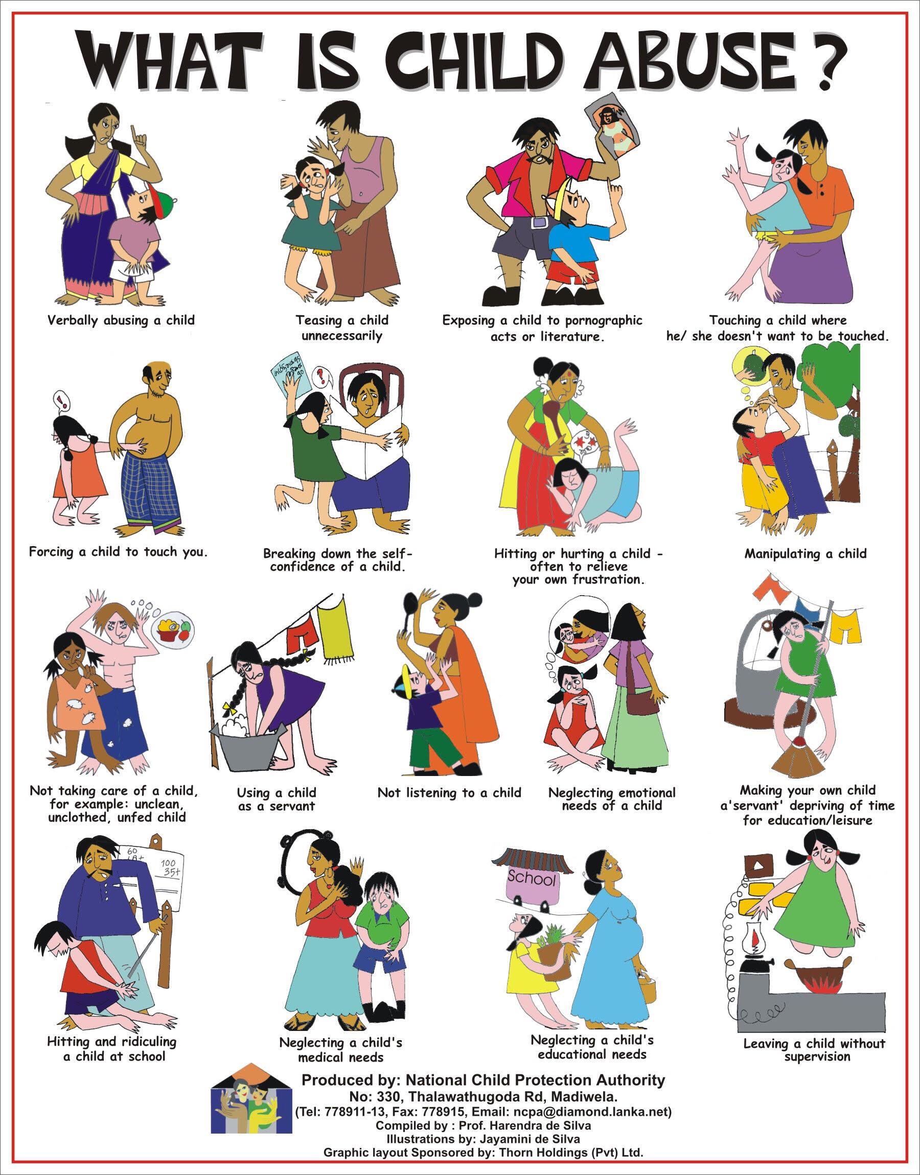 Emotional clipart wonder Abuse deteriorate child's choose emotional/mental