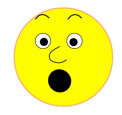 Shocking clipart headline Clipart face face  Smiley
