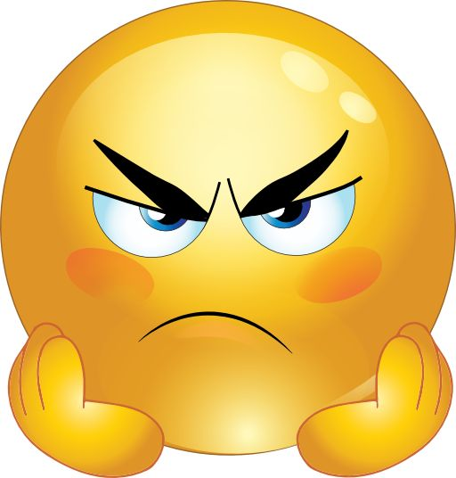 Emotions clipart anger Autism art face clipart smileys