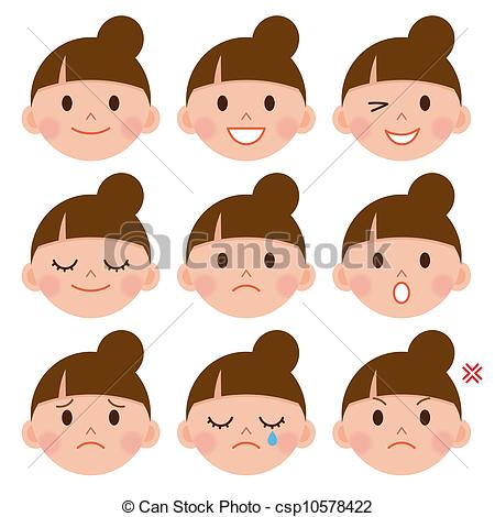 Emotions clipart animated faces Emotions faces (78+) Art Clip