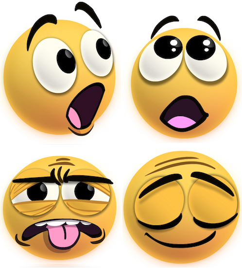 Emotions clipart animated faces Collection clip face Facebook's Researcher