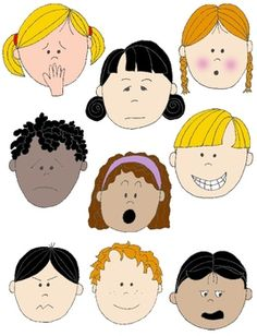 Emotions clipart animated faces Onderdeel Feeling Show Faces in