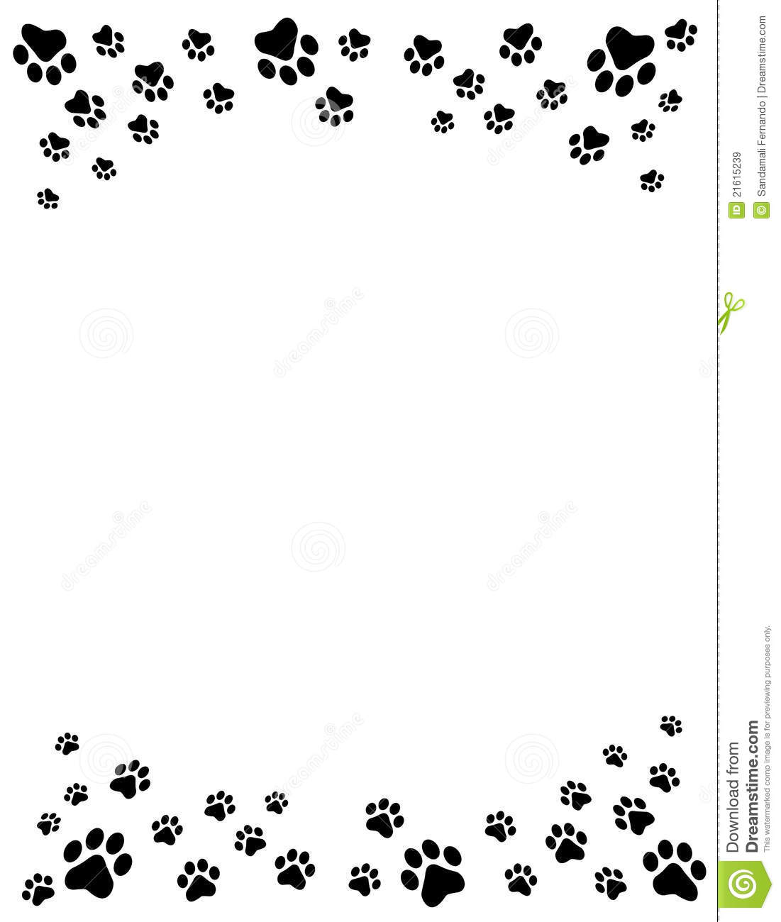 Emotions clipart border Design Paw Print Clipart Emotions