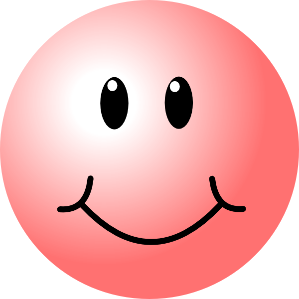 Celebration clipart smiley face Vector free royalty art online