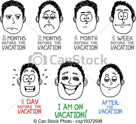 Emotions clipart cartoon face Cartoon of cartoon  drawn