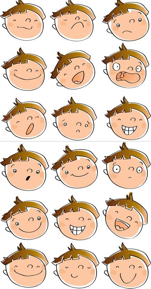 Emotions clipart cartoon face Emotion Cartoon Emotion Pictures Clip