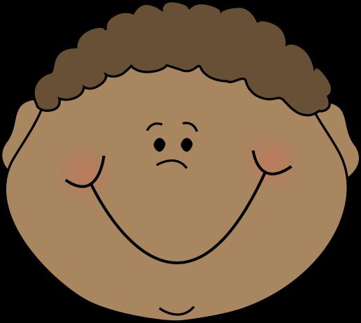Emotions clipart cartoon face Little Boy Emotions Clip Art