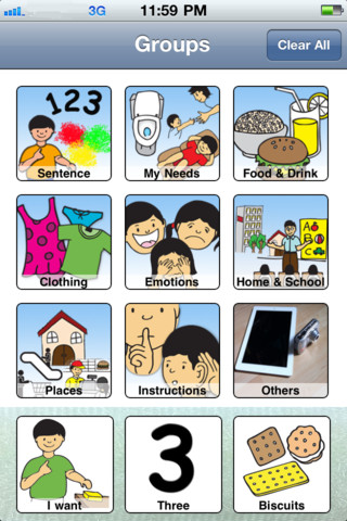 Emotions clipart communication AAC Exchange Communication Picture Picture