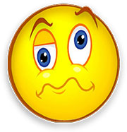 Smiley clipart confused Emotions Animated confused smiley Clipart