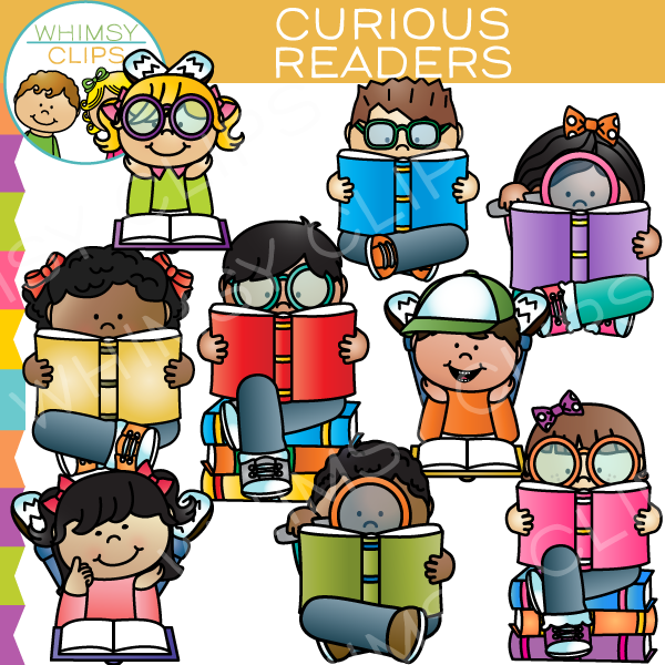 Emotions clipart curious Readers School Clip Curious Art